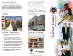 FSU Career Center- Informational Overview Brochure (Front)