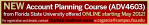 Account Planning Online Course Banner with Contact Information
