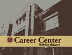 FSU Career Center- Building with Garnet Text Slide