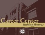 FSU Career Center- Building with Gold Text Slide