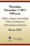 Career Center- Informational Session