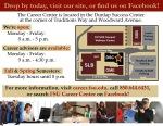 Career Center Overview Handout- BACK
