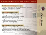 Career Center Overview Handout- FRONT