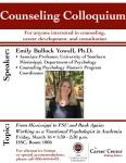 Career Colloquium Presentation Poster Sample