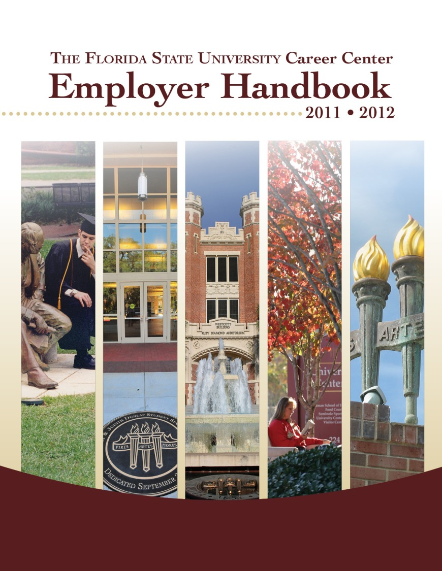 2011-12 Employer Handbook Cover
