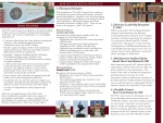 FSU Career Center- Employers and Friends Fundraising Brochure (Inside)