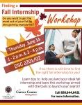 Fall Internship Workhop Poster