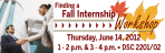 Fall Internship Workshop Web Banner