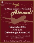 Finding Careers or Internships Abroad Workshop Handout