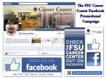 FSU Career Center- Facebook Promotional Campaign