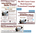 FSU Career Center- Mock Interview Campaign