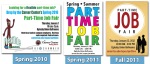 FSU Career Center- Part-Time Job Fair Brand Evolution