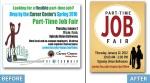 FSU Career Center- Part-Time Job Fair Rebranding