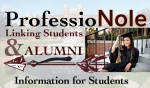 FSU Career Center- ProfessioNole Student Logo
