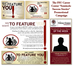 FSU Career Center-Seminole Success Stories Campaign