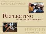 FSU Civility Statement3- Reflecting