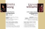 Intern Profiles for Joana and Trevor