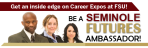 Seminole Futures Ambassador Program Banner