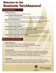 Seminole Torchbearers Flyer