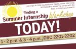Summer Internship Workshop Day Of Poster