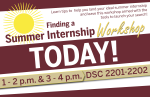 Summer Internship Workshop Day Of Poster