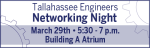 Tallahassee Engineers Networking Night Web Banner