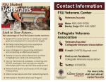 Veteran's Initiative Promotional Handout
