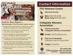 Veteran's Initiative Promotional Handout