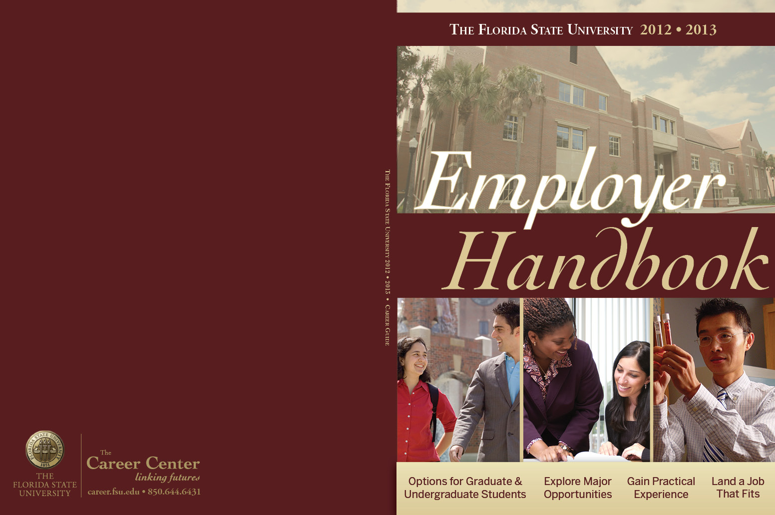 fsu employer handbook  cover options