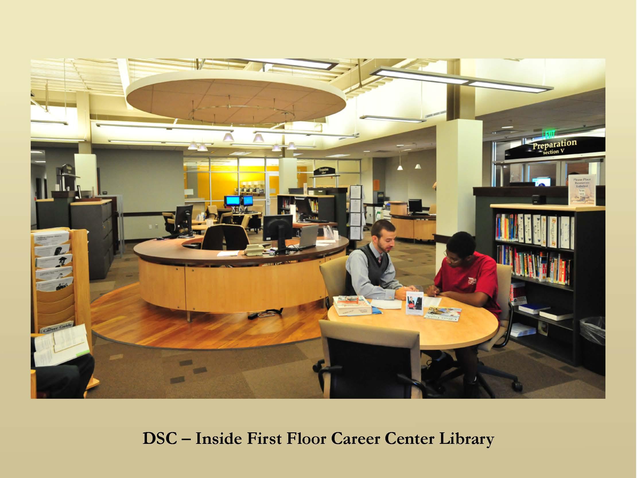 Career resource center resume builder