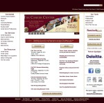 The FSU Career Center Homepage with Rotating Banner