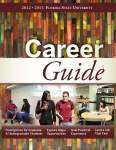 Front Cover_2012-13 Career Guide